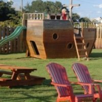 outer banks brewing station menu page picture of playground