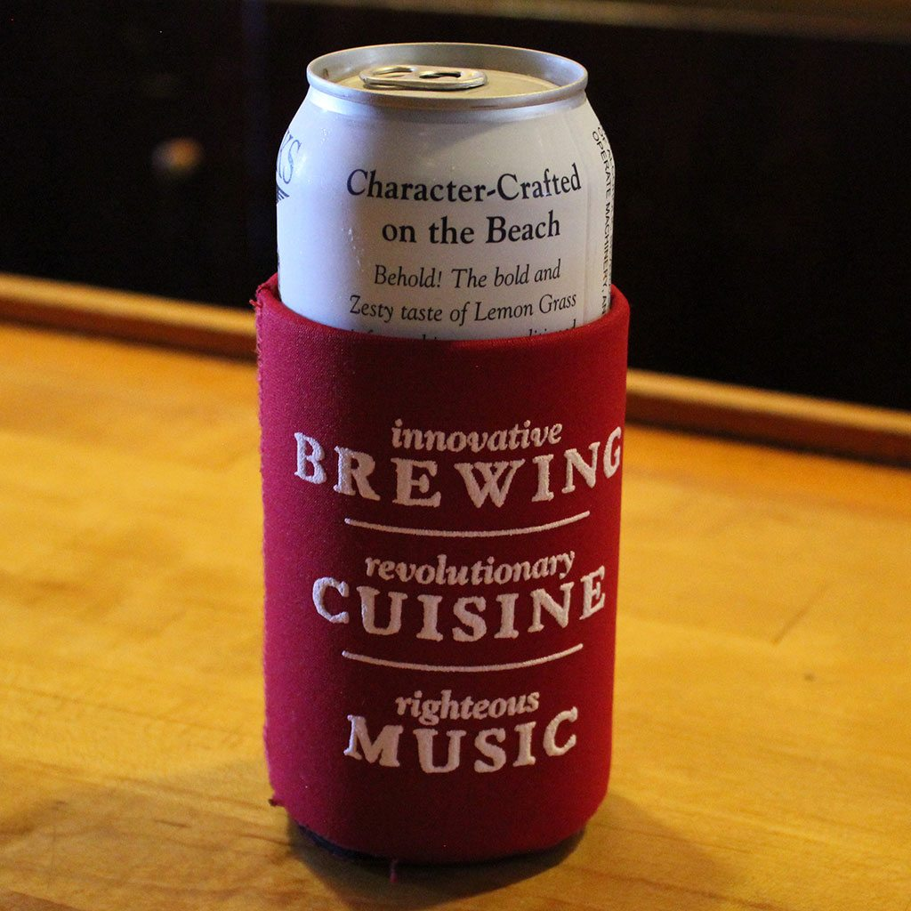 outer banks brewing station gear koozie