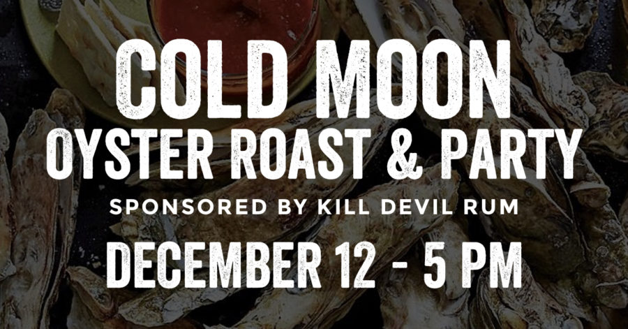 obx full moon oyster roast at the outer banks brewing station